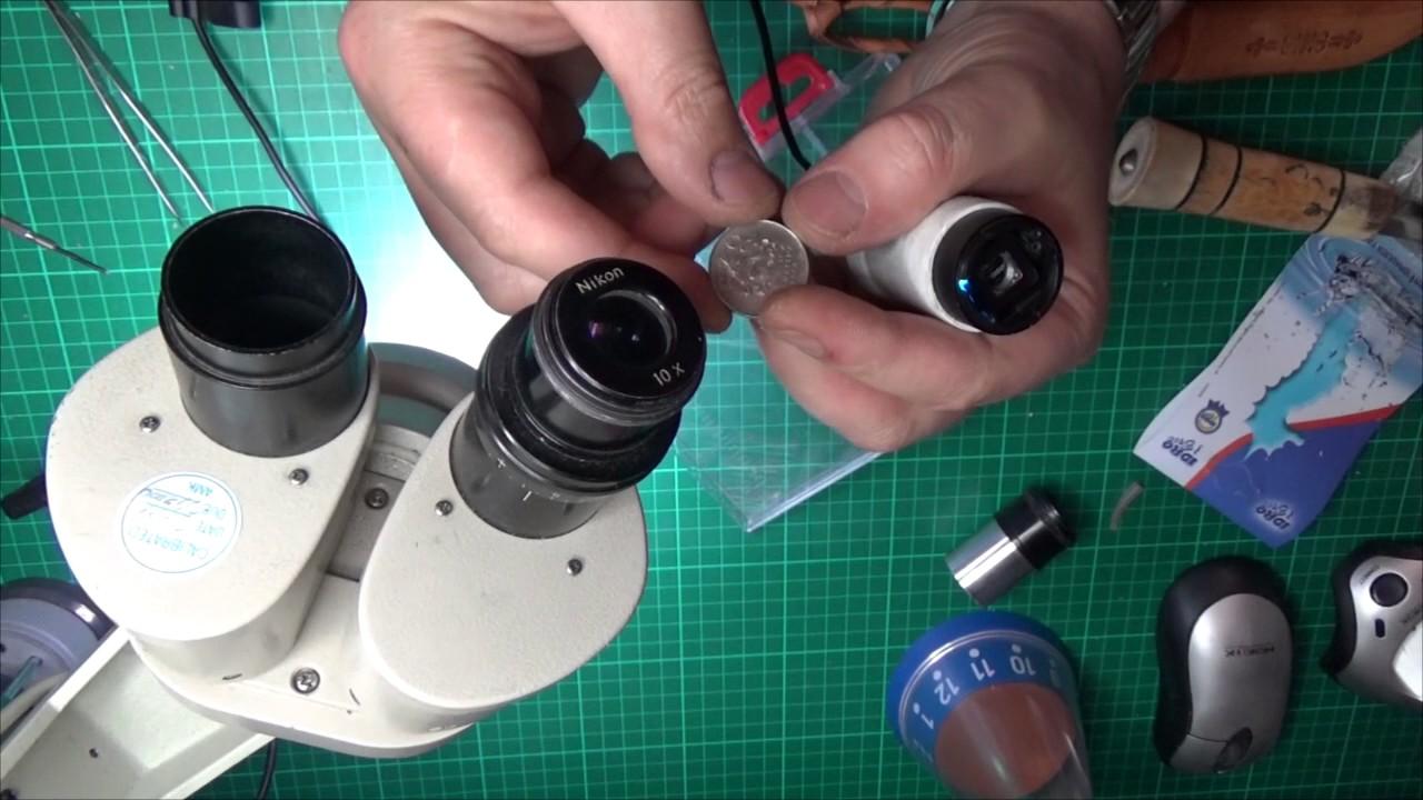 Как сделать микроскоп из объектива 677