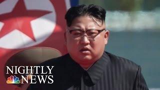 North Korea Crisis: What Will Kim Jong Un And Pres. Donald Trump Do? | NBC Nightly News