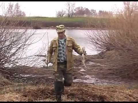 Рыбалка весной видео