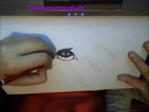 Como dibujar el ojo de un caballo youtube for Como pintar un ojo