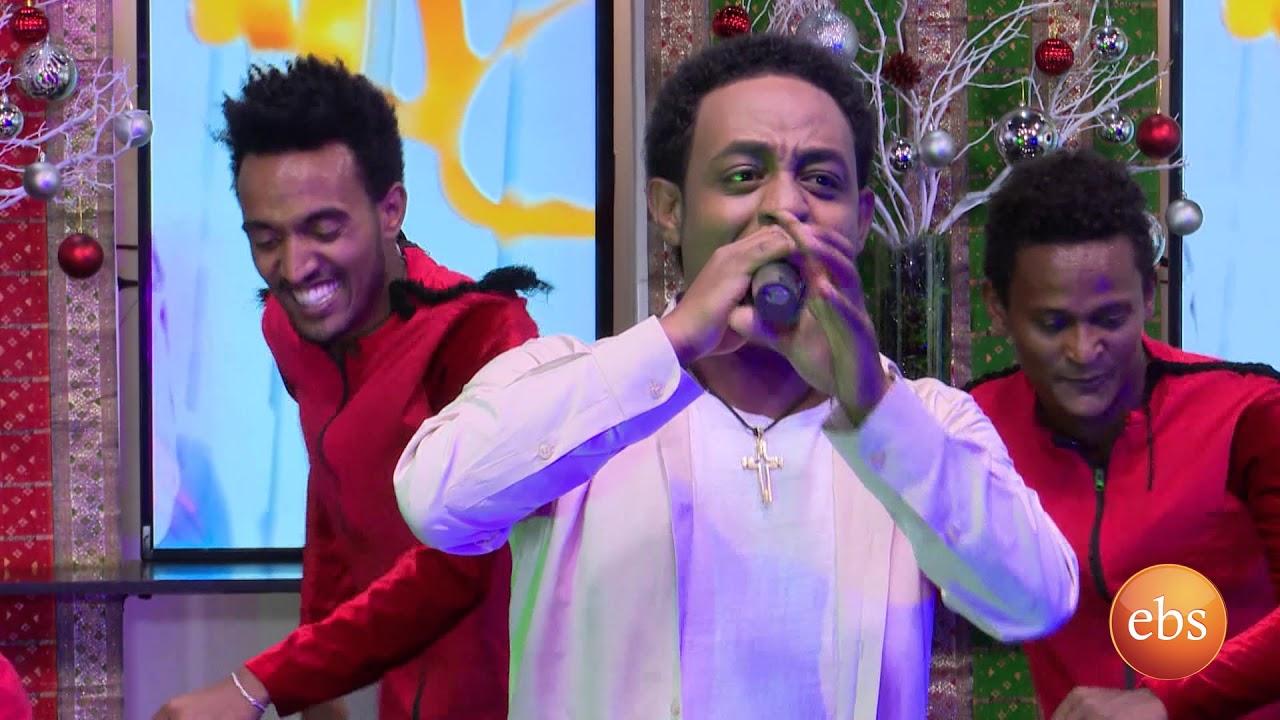 Ethiopian Famoius Singer On Sunday with EBS: Alemeye Getachew Live Performance
