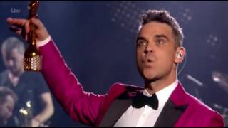 Brits Icon: Robbie Williams (07/11/2016) Part 6/6 (Take That gives the Award to Robbie)