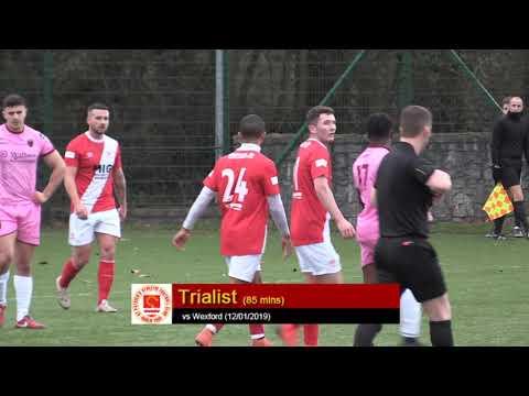 Goal: Trialist (vs Wexford 12/01/2019)