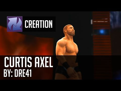 WWE2k14 Caw Creation - Curtis Axel