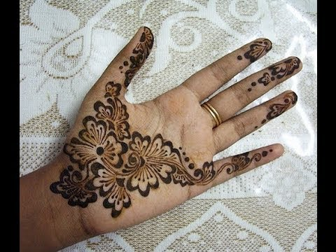 beautiful arabic henna mehendi design for indian and
