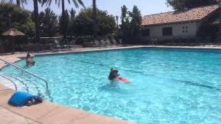Audrey 's first day (Apr 20 14) of swimming lessons_Part 3