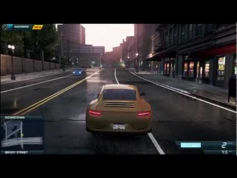 COTV - NFS Most Wanted POLICE CHASE Gameplay Commentary NFS001