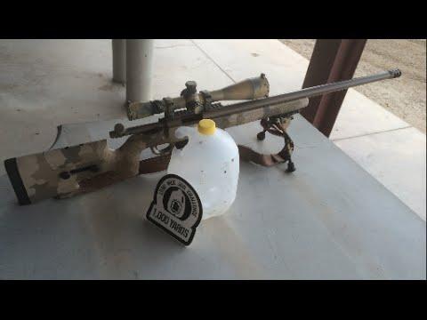 300 WSM vs Milk Jug at 1000 Yards - LRSU Milk Jug Challenge Jim Langstein #14