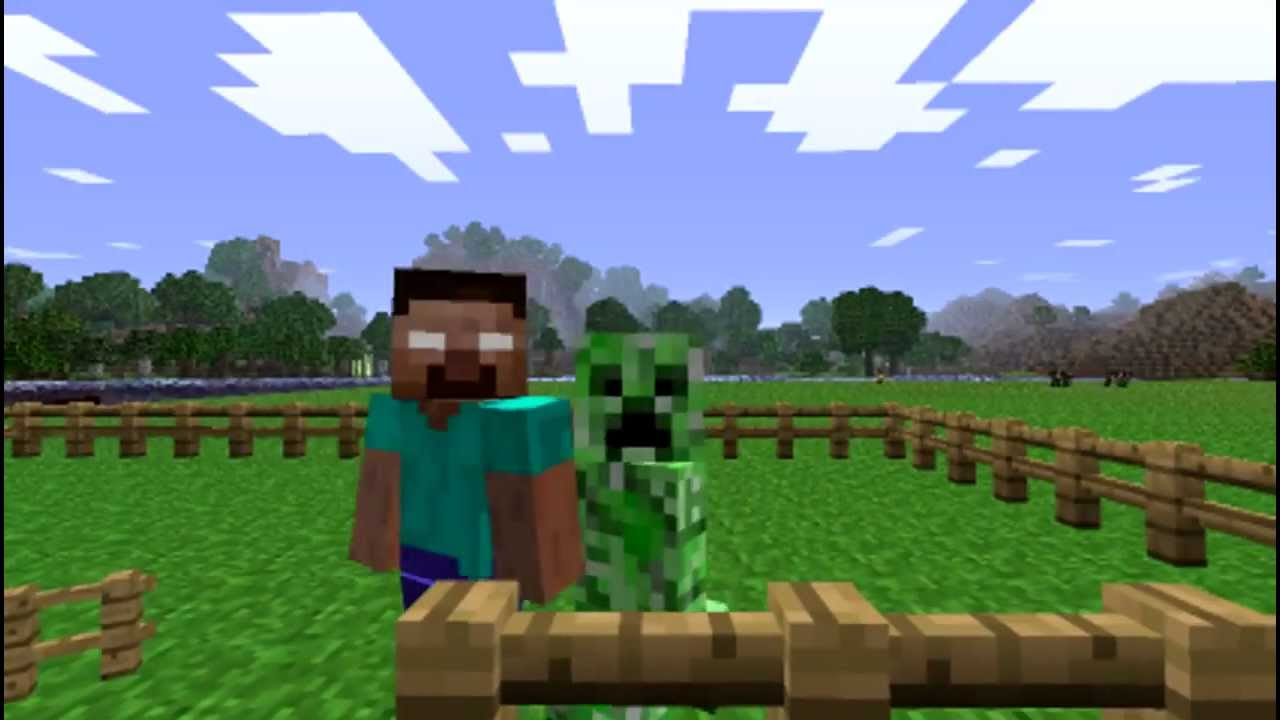 Herobrine Vs Creepers Youtube