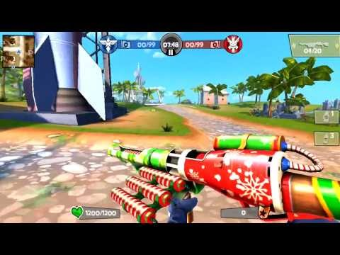 Blitz Brigade Multiplayer Gameplay team match  first episode part 1
