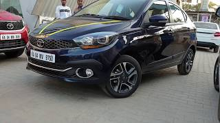 Taking Delivery of Tata Tigor Fully Loaded|Attractive Color|Key Handover,Exterior,Interior&Driving