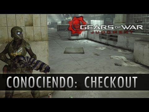 Gears of War Judgment: Conociendo el Mapa de Checkout!!