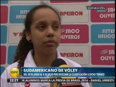 Sudamericano de Voley de Menores 2014 en Tarapoto-Perú