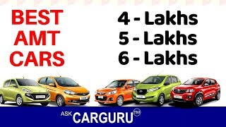 Low cost AMT Cars in India, Maruti, Hyundai, Tata, Renault & Datsun.