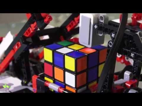 Lego Mindstorms Ev3 Resolviendo Un Cubo De Rubik.