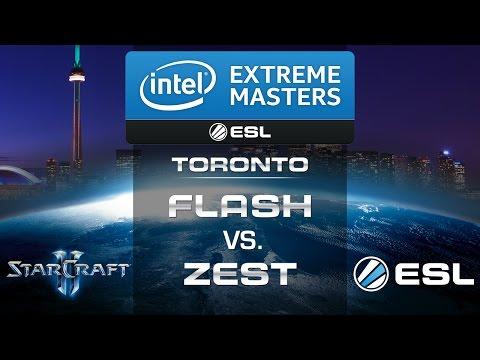 Flash vs. Zest (TvP) - IEM Toronto 2014 - Grand Final - StarCraft 2