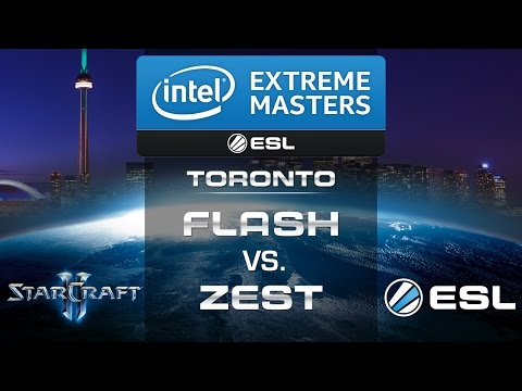 Flash vs. Zest (TvP) - IEM Toronto 2014 - Grand Final - StarCraft 2