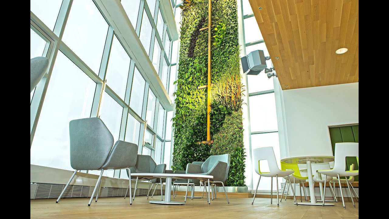 Desjardins Unveils The Tallest Indoor Living Wall In The