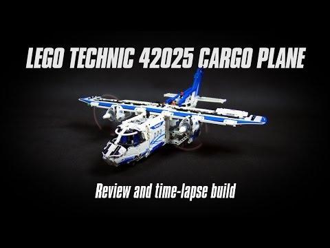 Lego Technic 42025 Cargo Plane Build & Review