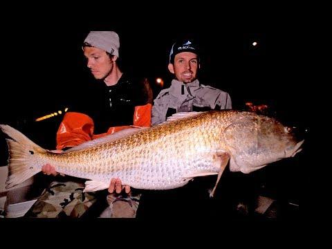 Fishing for Monster Redfish in Virginia