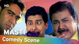 Masti - Riteish Deshmukh - Aftab Shivdasani - Hit Comedy Scene - Shemaroo Bollywood Comedy