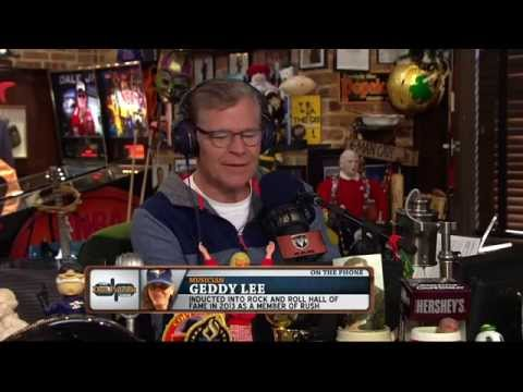 Geddy Lee on The Dan Patrick Show (Full Interview) 10/15/15