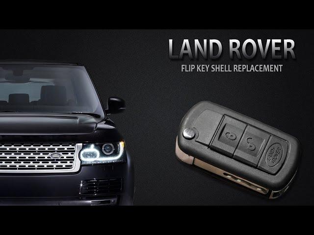 LAND ROVER Flip Key Change - YouTube