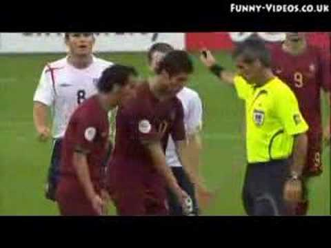 Wayne Rooney's red card, Germany 2006