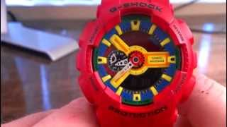 GA110FC-1 Matte Red Hyper Color - Casio G-Shock Watch Review - Limited Edition / Rare