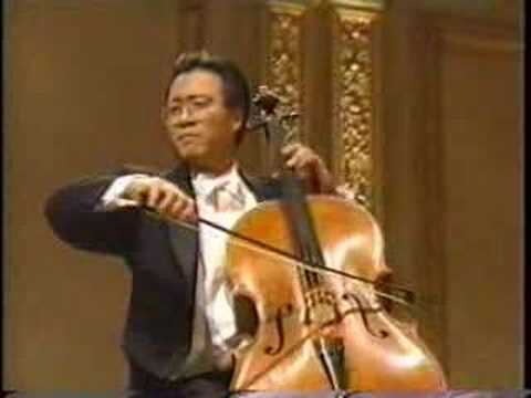 Yo-Yo Ma: Elgar Cello Concerto, 1st mvmt Video