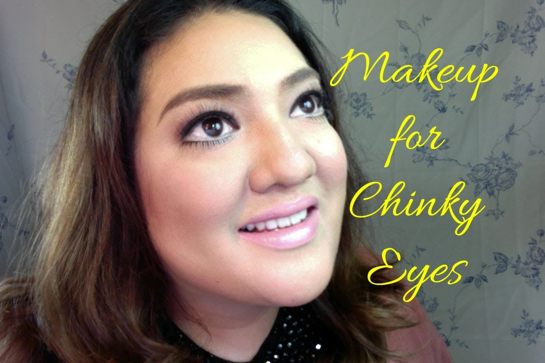 Makeup for Chinky Eyes (HD) - YouTube
