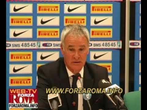 Claudio Ranieri - Conferenza Stampa post Inter-Roma del 08/11/2009