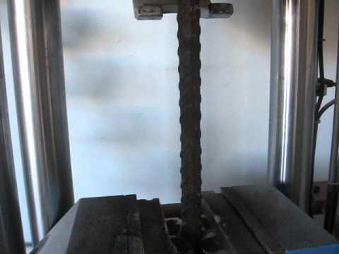 Çelik Çubuk Deneyi ve kopma anı