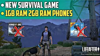 New Survival Game For 1gb and 2gb Ram Phones | New Survival Game Like Pubg Mobile