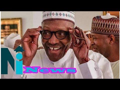 Nigeria president muhammadu buhari urges muslim clerics to preach against corruption in mosques