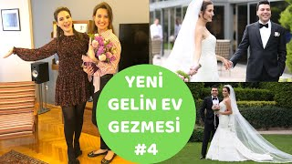 YENİ GELİN EV GEZMESİ #4/Düğün Hikayesi-Pronovias Gelinlik-Retro Stilinde Dekore Edilmiş Ev Turu