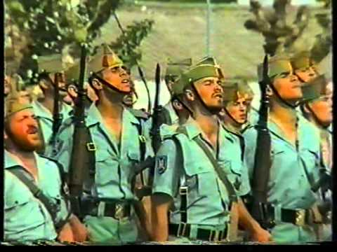 LA LEGION,TERCIO ALEJANDRO FARNESIO JURA BANDERA 3º/97,RONDA.2ªPARTE.