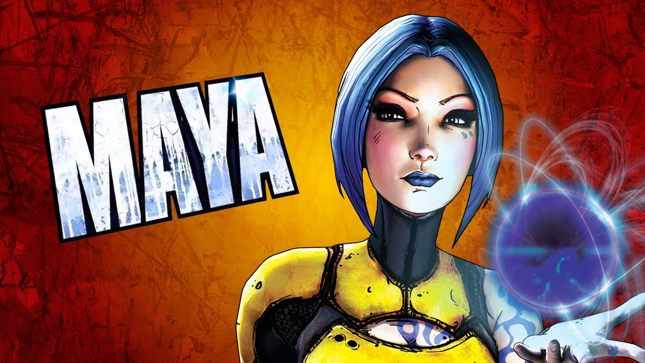 Borderlands 2 Character skill guide - Maya the Siren - YouTube