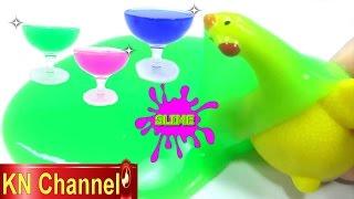 Đồ chơi trẻ em SLIME CHẤT NHỜN MA QUÁI Bé Na Tìm đồ chơi bất ngờ Surprise Kid Toy