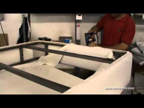 Mecanismo para canape abatible
