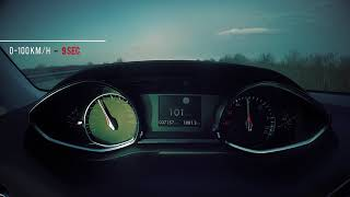 Peugeot 308 1.6 BlueHDI Facelifted 0-140 km/h fast acceleration