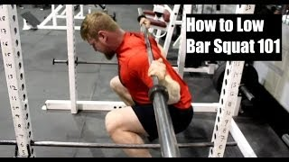 HOW TO LOW BAR SQUAT CORRECTLY: Proper Form for Building Muscle + Strength