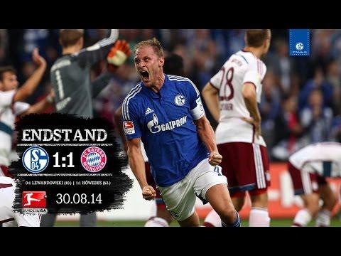 FC Schalke 04 vs FC Bayern München 1-1 FULL MATCH + CHOREO