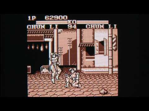 Classic Game Room - STREET FIGHTER II for Nintendo Game Boy review