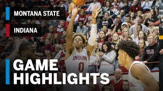 Highlights: Montana State at Indiana | Big Ten Basketball