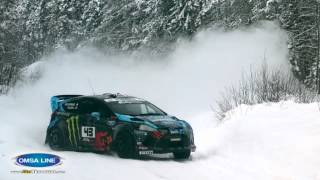 Ken Block Snow Drift