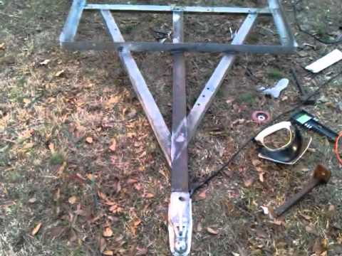 How to build utility trailer/Pig Cooker