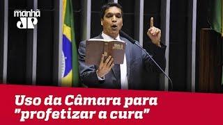"""Deputado do Patriotas usa tribuna da Câmara para """"profetizar a cura"""" da deputada Mara Gabrilli"""