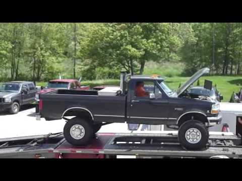 Ford F350 with a Cummins