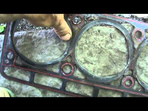 Прокладка под головку 402 двигателя с подвохом